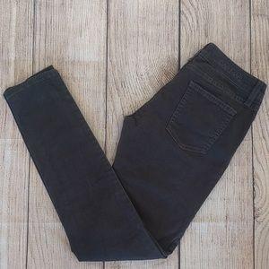 Carmar Charcoal Grey Stretch Skinny Jeans Sz 27